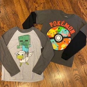 Pokemon and Minecraft